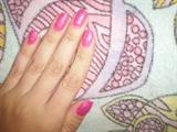 Pink gliter