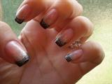 Black French Nail