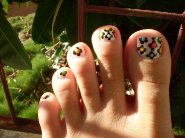 Flower - Nail Art idea