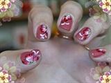 Sweet nail design