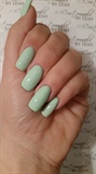 Mint Geena nails