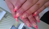 coral stiletto