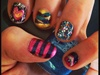 My 1st nail art designs...
