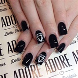 Black x Diamonds