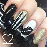 Black x Gold