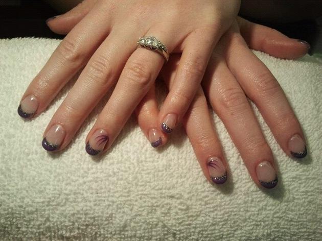 Lavender and Titanium
