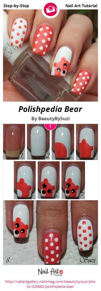 Polishpedia Bear - Nail Art Gallery