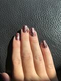 Pink Metallic Zebra