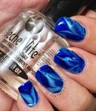Blue Watermarble