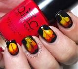 Bonfire Nails