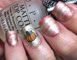 Matte Watermarble Stripe Pumpkin