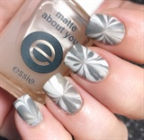 White Grey Matte Watermarble