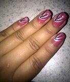 Flamingo Inspired Nail Design Pic 2