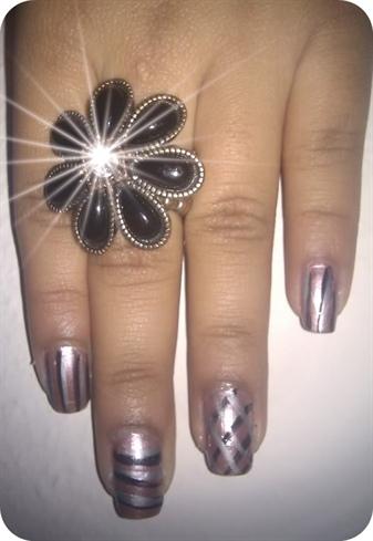 Bridesmaid Nail Design