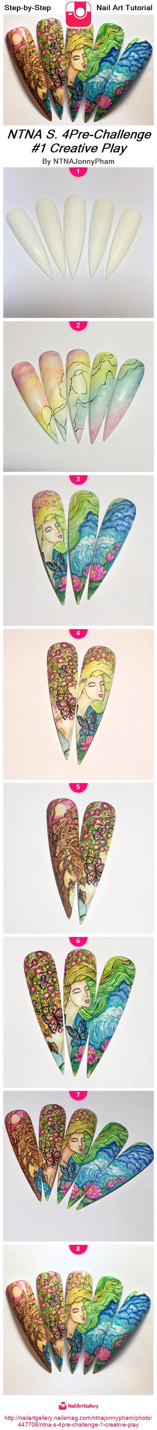 NTNA S. 4Pre-Challenge #1 Creative Play - Nail Art Gallery
