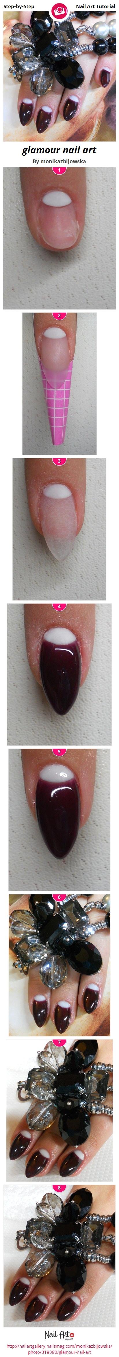 glamour nail art - Nail Art Gallery