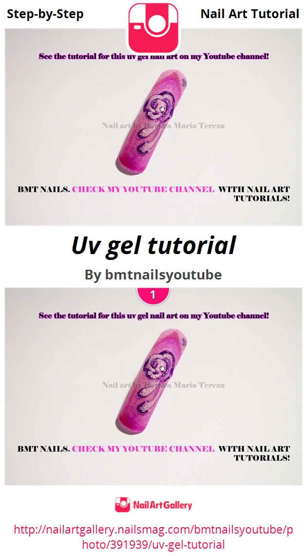Uv gel tutorial  - Nail Art Gallery