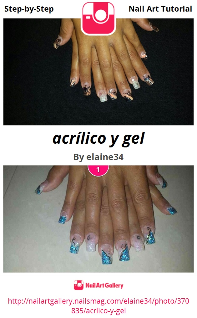 acrílico y gel - Nail Art Gallery