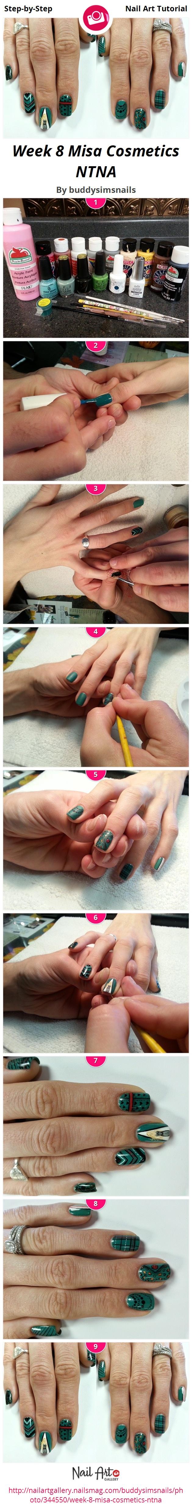Week 8 Misa Cosmetics NTNA - Nail Art Gallery