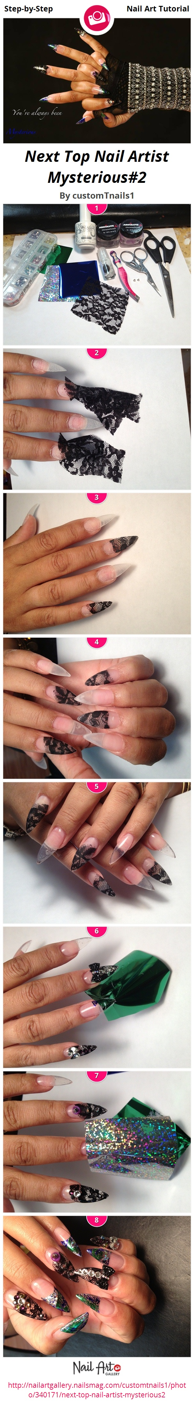 Next Top Nail Artist Mysterious#2 - Nail Art Gallery