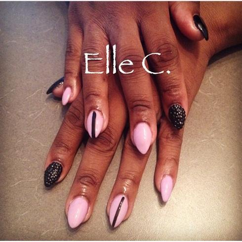 Edgy using @bioseaweedgel Pink Sky