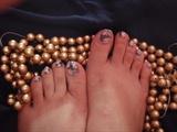 Rose toes...........
