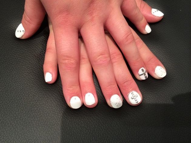 Christening Nails