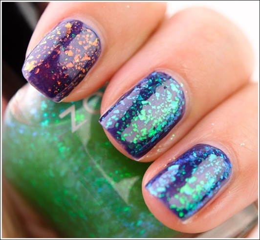 New Zoya Fleck Effects layered over Illa