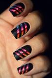 Zebra Stripes Mani