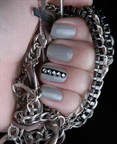Square rhinestones from Chit Chat Nails