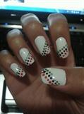 Slanted dots