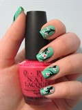 Nail Art Tutorial - Cherry Blossoms