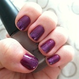 "Purple Nail Polish Swatch. ""Pastel Purpl"