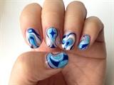 skyblue nail