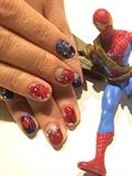 spider-man nail