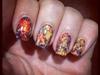 Saran Wrap Nails!!