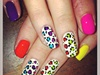 Neon Leopard Print!