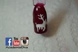 Rodolph Christmas Nails
