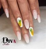 Ananas Nail Art :D