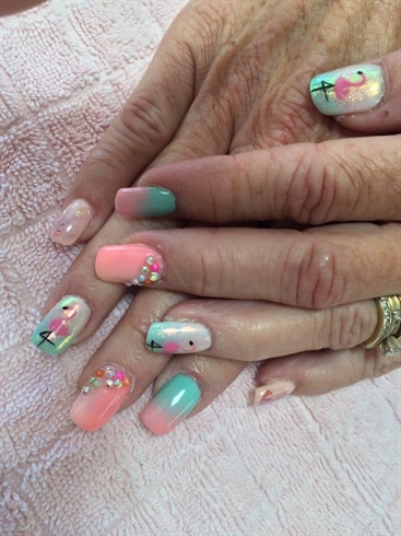 IG @academiediva.rosemere :: Pastel Nail