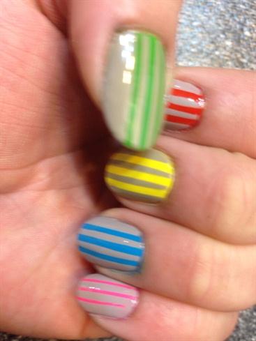 Multicoloured Stripes