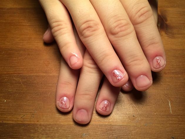 Фото ногтей со шлаком