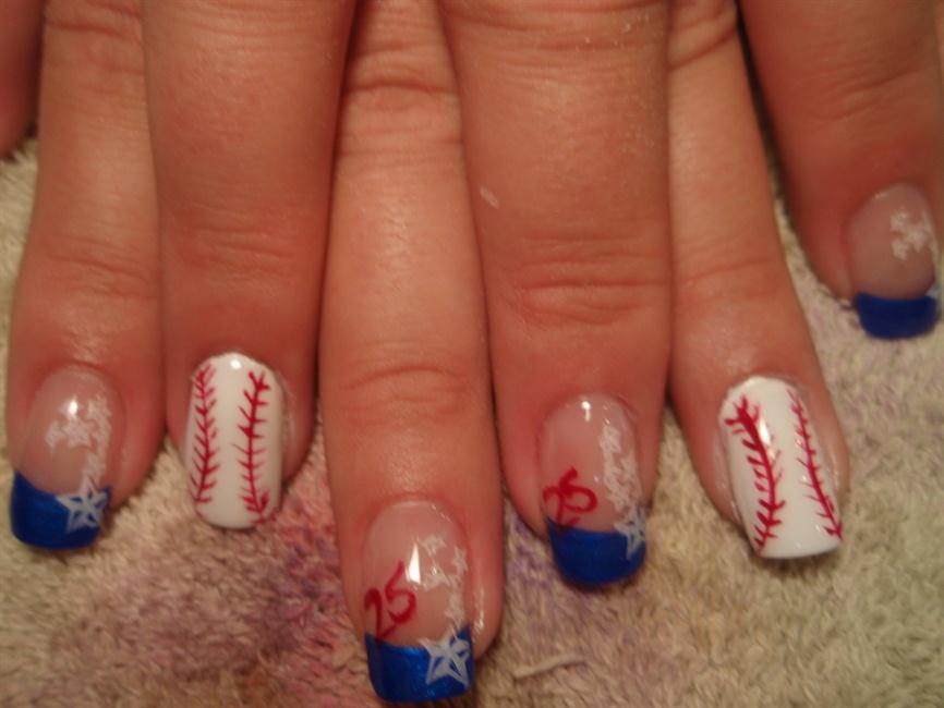 Baseball Nails - Nail Art Gallery
