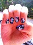 Galaxy Nails Right Hand