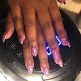 Perfect Glitter Nails