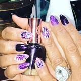 Pretty Purple Nails