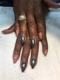 Acrylic Almond Shaped Nails