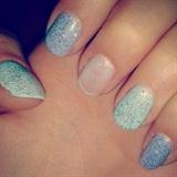 OPI Pastel Glitter Nails :)