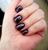 Black & Purple W/Glitter