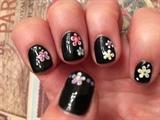 Black Spring Nails